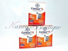 SALE Bayer Contour TS Diabetic Test Strips Sealed 150 (50*3) Exp 02/2019+ US Auc