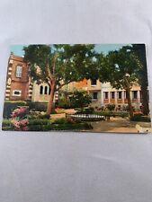 Vintage Oran Algeria Postcard Carte Postale CPA L Eviche Et Vue Le Square