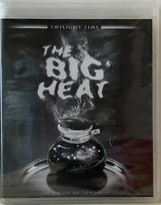 THE BIG HEAT Blu-ray - Twilight Time Limited Edition - Like New