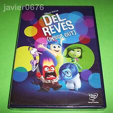 DEL REVES INSIDE OUT DISNEY PIXAR DVD NUEVO Y PRECINTADO