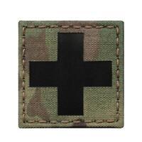Multicam IR Switzerland Swiss Flag 2x3.5 Suisse Drapeau Red Cross IFAK Infrared IFF Tactical Patch