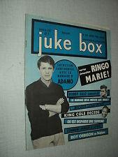 JUKE BOX 102 (1/4/65) ADAMO EDDY MITCHELL SHEILA FRANCE GALL ROLLING STONES ANKA