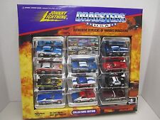 """Johnny Lightning 11 """"DRAGSTERS"""" U.S.A. 1996 Playing Mantis - Collectors Edition"""