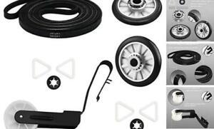 4392065 Dryer Replacement Parts Includes 341241 Drum Drive Belt & 2 PCS