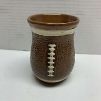 Brown Textured 3D Football Coffee Mug DEI Dennis East International