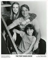 TONY DANZA ASHLEY MALINGER MAJANDRA DELFINO TONY DANZA SHOW 1997 NBC TV PHOTO