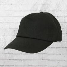 Result 5 Panel Baseball Cap schwarz Kappe Mütze Haube Basecap Cappy Capi