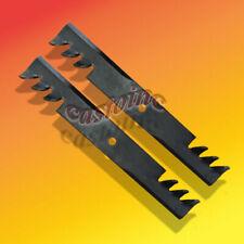 """Commercial Multching Blades Fis Encore,John Deere, Toro 32"""" Cut Mower Set of 2"""