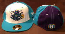 New Orleans Hornets Throwback New Era 59FIFTY Fitted LOGO Hat (Teal Brim) 7 3/8