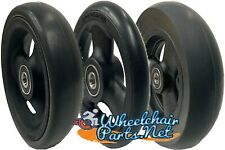 Set of 2 Front Caster Wheels For Quickie, Ki-Mobility and Other Wheelchairs