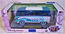 "2018 M2 Machines ""WALMART EXCLUSIVE"" 1960 VW Microbus Deluxe U.S.A. Model"