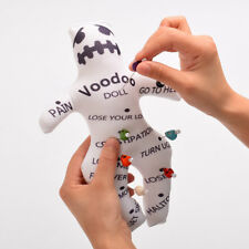 Authentic Voodoo Doll With 7 color Skull Pins New Orleans