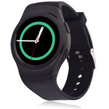 Bluetooth Smart Sport Pedometer Watch Heart Rate Sensor G3 for Android IOS Black