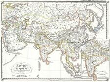 SPRUNER MAP ASIA 200 B.C.E HAN CHINA SELEUCID EMPIRE POSTER PICTURE 2924PYLV