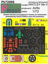 WHITLEY Mk.V PAINTING MASK TO AIRFIX KIT #72086 1/72 PMASK