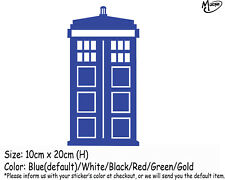TARDIS Doctor Who Car Sticker Reflective Funny Car Decals Best Gifts