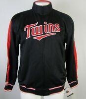 Minnesota Twins MLB Stitches Men's Full-Zip Track Jacket