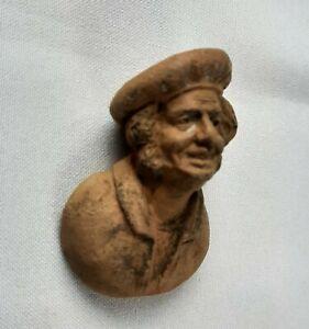 Eugène BLOT. Buste de marin en terre cuite