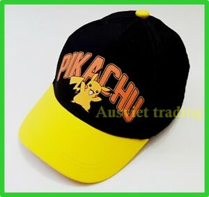 Brandnew Pokemon Pikachu boys kids girls Cap / Hat Brand new cotton