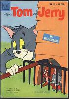 Tom und Jerry Nr.19 von 1958 - Z1-2 ORIGINAL ERSTAUFLAGE COMICHEFT Moewig