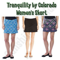 NEW Tranquility by Colorado Clothing Ladies' Skort COLOR & SIZE VARIETY S - XXL
