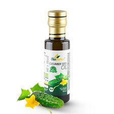 Certified Organic Cold Pressed Cucumber Seed Oil 100ml Biopurus