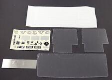 Pocher 1:8 Fenster Set Aufkleber Spiegel K79 Volvo F12 Intercooler neu L2