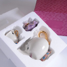 Beauty And The Beast Teapot Mug Mrs Potts Collection Novelty Gift New Set