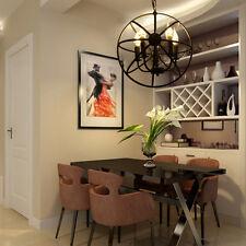 Clásico Lámpara Colgante de Techo 5x Luz E14 Candelabro Comedor Casa Dormitorio