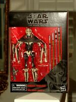 Hasbro Star Wars The Black Series General Grievous 6-inch Action Figure MINT