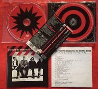 U2 How to Dismantle an Atomic Bomb JAPAN CD+DVD with OBI 1 Bonus Track UICI9007
