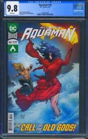 Aquaman 44 (DC) CGC 9.8 White Pages 1st appearance of Namma the Dragon God