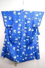 05v7129 Cotton Tall Japanese kimono YUKATA Flower