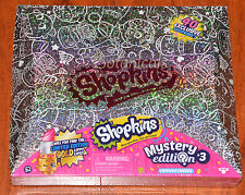 Shopkins MYSTERY Edition 3 Diamond Box 40 Shopkins Target EXCLUSIVE New SEALED