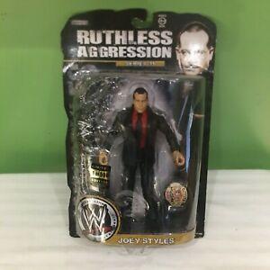 WWE Jakks 1-500 JOEY STYLES 35 Ruthless Aggression Limited Gold Belt Figure ECW