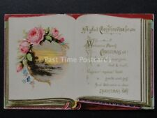 Embossed Greetings: CHRISTMAS - A Glad Christmastide For You c1908 by J. Beagles