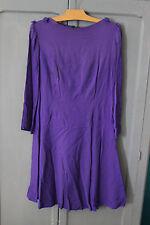 Ancienne robe - Vintage - Années 70 - Seventies - Mauve - Violette
