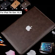 """For iPad 7th Gen 10.2"""" 2019 Luxury Leather Wallet Smart Stand Flip Case Cover"""