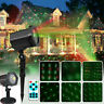 Moving Star Laser Projector Lights Xmas Party Outdoor Garden Christma Deco Lamp
