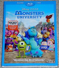 Disney Pixar Blu-ray + DVD Combo - Monsters University (New)