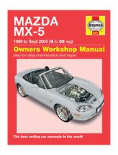 Haynes MAZDA Mx-5 1989 - Sept 2005 Owners Workshop Manual