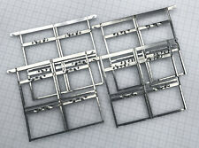 New listing 4 x 5 Stainless Steel Sheet Film Hangers set of 4, holds four 4x5 top clip style