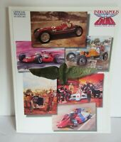 1992 Indianapolis 500 Race Indianapolis Motor Speedway Official Program