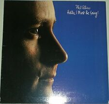 Phil Collins Hello, I must be going (1982) [LP]