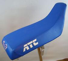 HONDA ATC 250sx seat cover all blue ATC on sides white