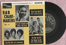 R&BCHARTMAKERS NO:4 EP-EDDIE HOLLAND-THE TEMPTATIONS-SUPREMES-THE CONTOURS-NEW