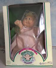vintage CABBAGE PATCH KIDS PREEMIE 1985 Coleco Doll Unused w/Original Box Papers