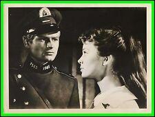 "BARBARA  KWIATKOWSKA & STANISLAW  MIKULSKI in ""Eva Want to Sleep"" Original 1958"