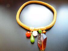 Modeschmuck-Halsketten & -Anhänger im Collier-Stil mit Achat für Damen