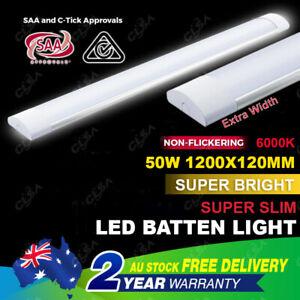 50W LED SUPER BRIGHT 4FT 1200MM BATTEN LIGHT SLIM REPLACE T8 TUBE FITTING